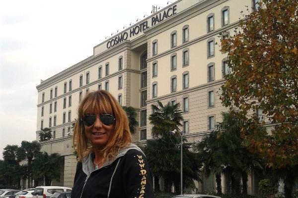 Giada evento Cosmo Hotel