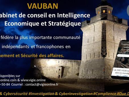 Communiqué de presse de VAUBAN : Décembre 2020