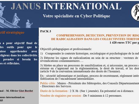 Pack 3 - Compréhension, détection, prévention du risque de  radicalisation