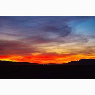 Skies on fire 🔥 #nowherediary #nowherem