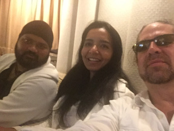 Selva, Radhika and Jason