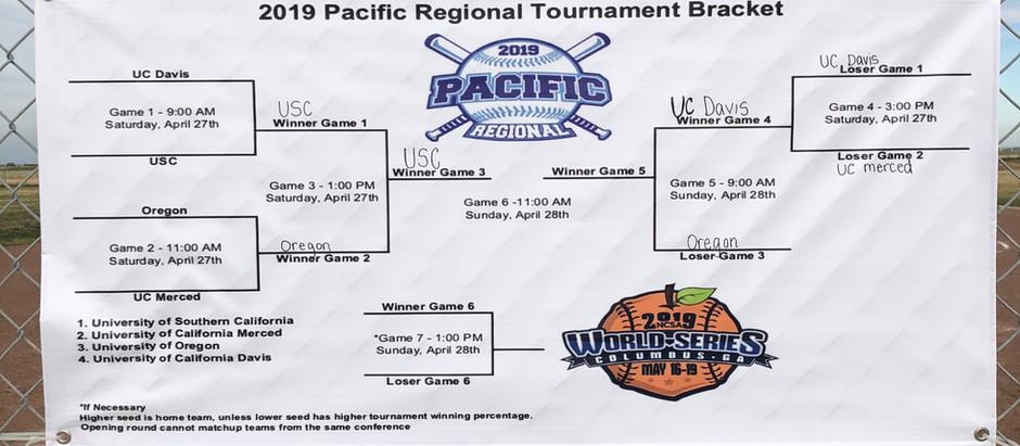 NCSA Pacific Regionals  Games 1 & 2