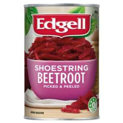 Edgell Shoestring Beetroot 425g