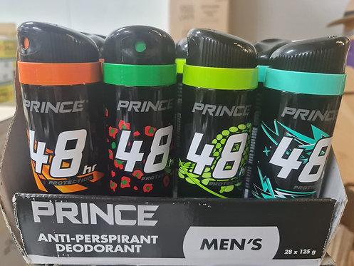 Prince Mens Deodorant 125g