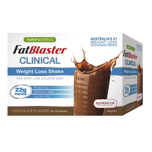 FATBLASTER Clinical 1 x Meal Replacement Chocolate Sachet
