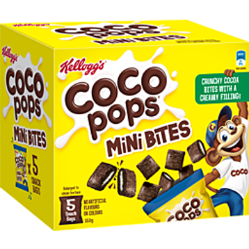 Coco Pops Mini Bites Sachet 5pk