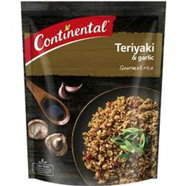 Continental Side Dish Teriyaki & Garlic Rice 115g