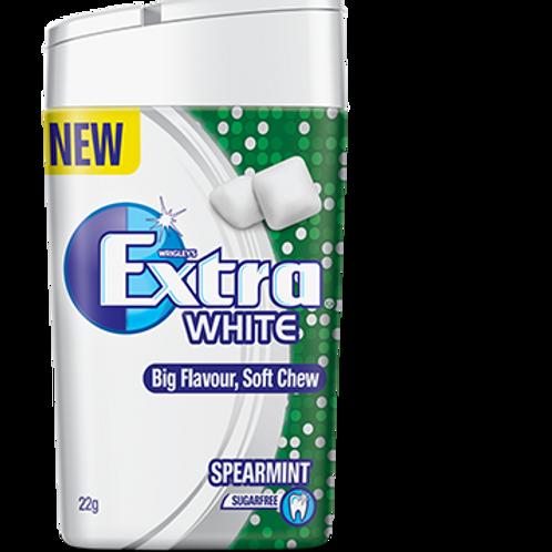 Extra™ White Soft Chew Spearmint 22g x 12 Bottles