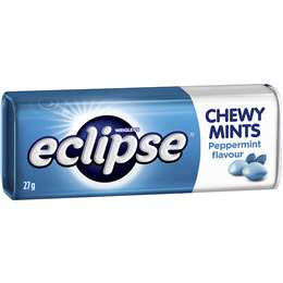 Eclipse Chewy Mints Tin 27g x 5 packs