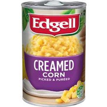 Edgell Creamed Corn Creamed 420g