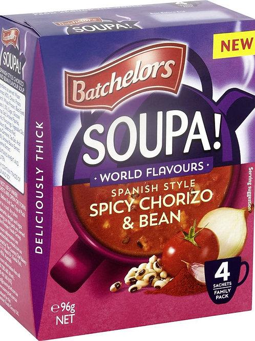 Batchelors Soupa Spicy Chorizo & Bean 96g