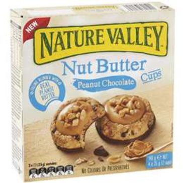Nature Valley Nut Butter Peanut Chocolate Cups 4 pack