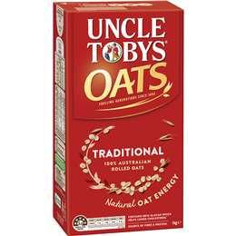 Uncle Tobys Oats 1kg
