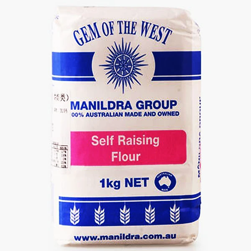 Gem of the West Self Raising Flour 1kg