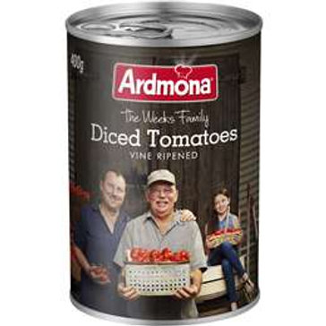 Ardmona Tomatoes Diced 400g