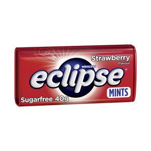 Wrigley's Eclipse Sugar Free Strawberry Mints Large Tin