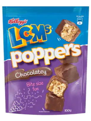 LCMs® Poppers Chocolatey