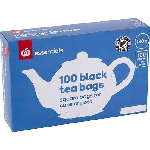 Essentials 100 Black Tea Bags 180g