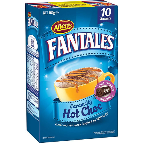 Allen's Fantales Hot Drinking Chocolate 10 pack
