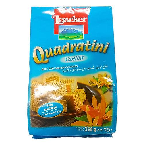 Loacker Quadratini Vanilla Wafer Cookies