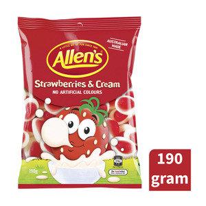 Allen's Strawberries & Cream