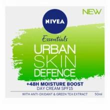 Nivea Essentials Urban Skin Defence 48hr Moisture Boost SPF15 50ml