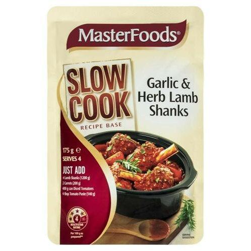 Masterfoods Garlic & Herb Lamb Shanks Sauce 175g