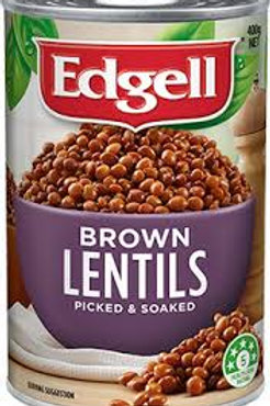 Edgell Brown Lentils 400g