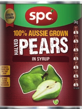 SPC Diced Pears In Syrup 140g