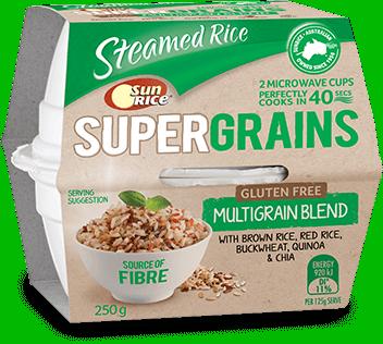 Sunrice Super Grains Gluten Free Multigrain Blend Cup 250g