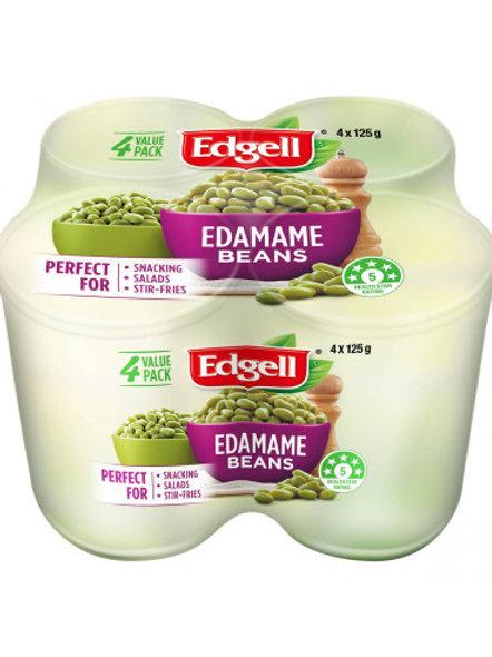 Edgell Edamame Bean Cans 4 x125g