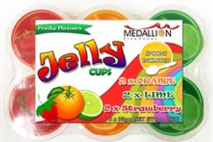 Medallion Jelly Cups 6 Pack (6x95gm Cups) 570gm