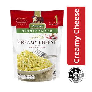 San Remo Single Snack Creamy Cheese Pasta Sauce 80g
