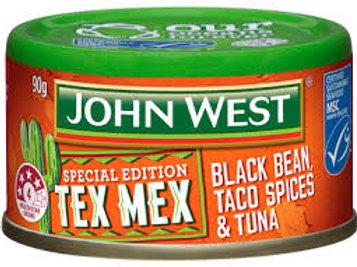 Tex Mex Spiced Black Bean & Taco Spices & Tuna  90g