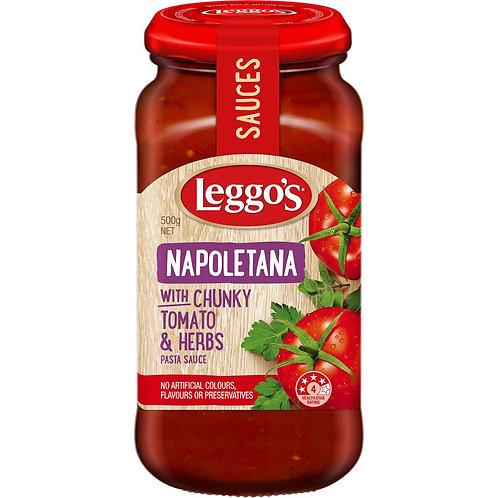 Leggos Pasta Sauce Napoletana 500g