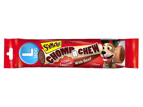 Schmackos Chomp 'n' Chew Singles Large Dog