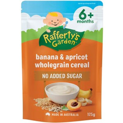 Rafferty's Garden Banana & Apricot Cereal 125g