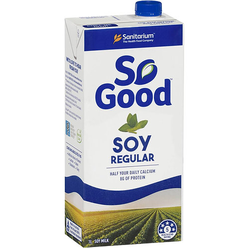 So Good Soy Regular 1lt