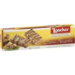 Loacker Wafers Pasticceria Noisette 100g