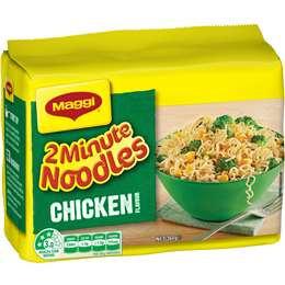 Maggi 2 Minute Chicken Noodle x 5