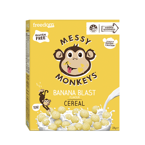 Freedom Foods Messy Monkeys Banana Cereal