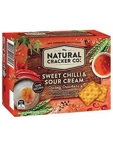 Natural Cracker Sweet Chilli & Sour Cream 160g