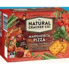 The Natural Cracker Co. Margarita Pizza Crispy Crackers 160g