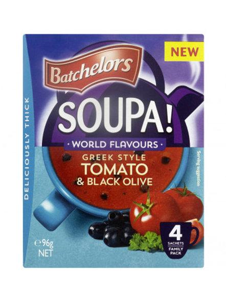 Batchelors Soupa Tomato & Black Olive 96g