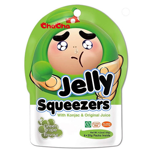 ChaCha Jelly Squeezers Apple 120g