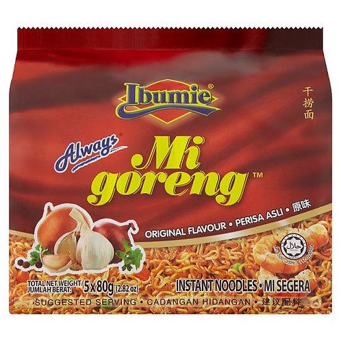 Mi Goreng Instant Noodles Original 5 x 80g