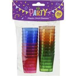 Party Shot Glasses 20pk