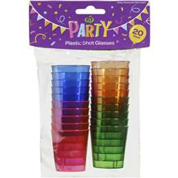 Party Shot Glasses 20pk