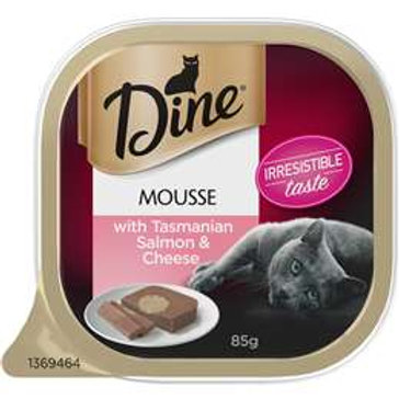 Dine Mousse Salmon & Cheese 85g