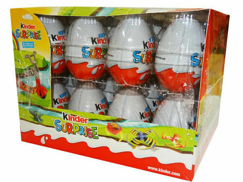 Kinder Surprise Eggs (20g x 24 Egg pack)